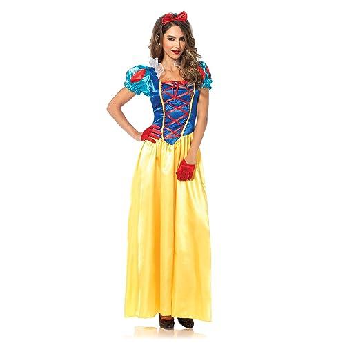 9442901a417 Leg Avenue Women s 2 Piece Classic Snow White Costume