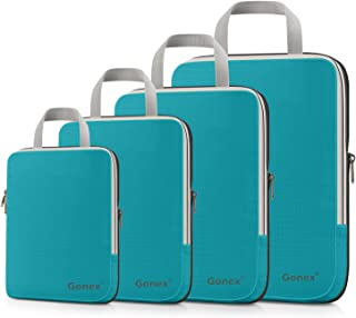 Gonex Extensible Packing Cubes 4 sets (Blue)