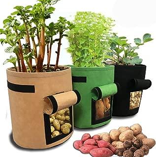 hessian pot plant bags
