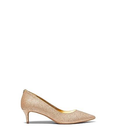 MICHAEL Michael Kors Sara Flex Kitten Pump (Gold) Women