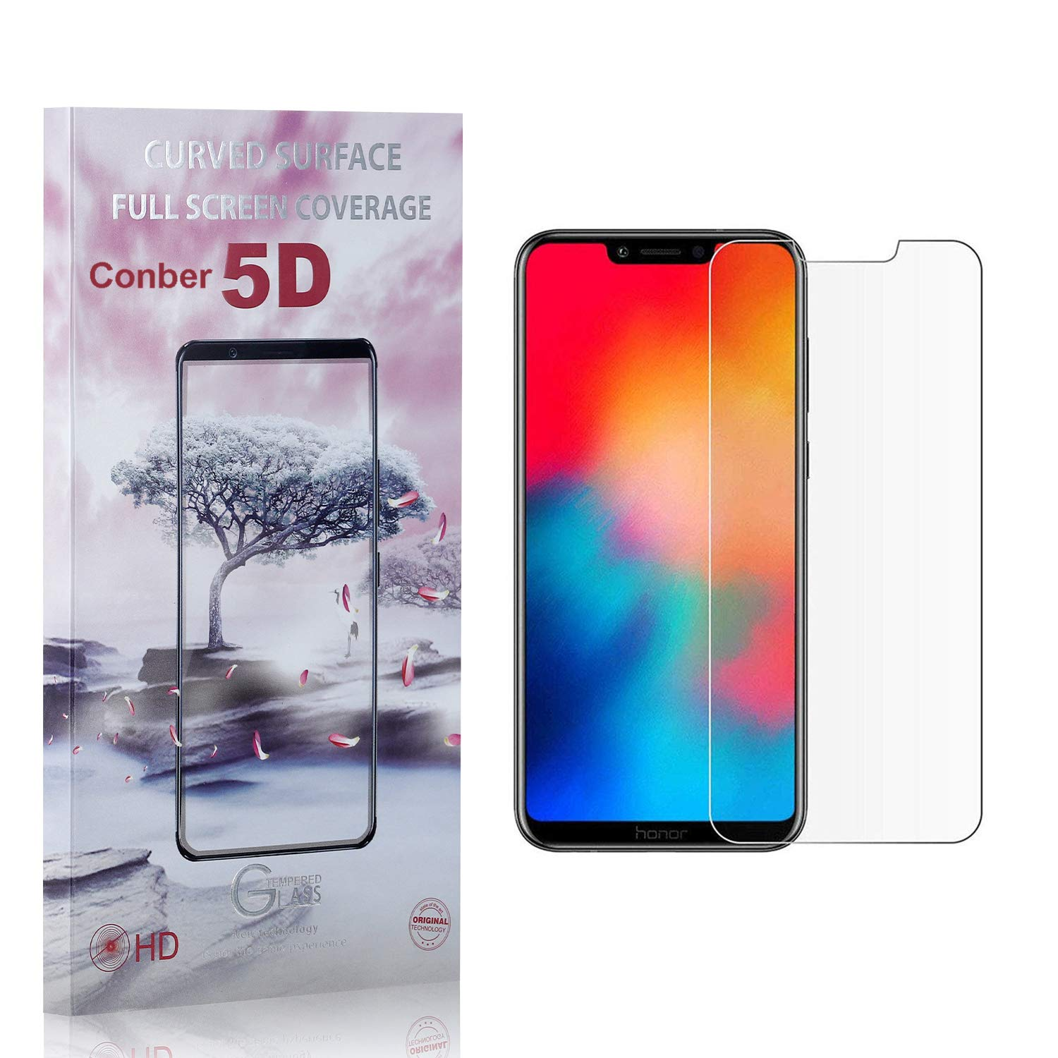 Conber 4 Pack Screen Protector Fashionable Free shipping on posting reviews Huawei Anti-Sh Play for Honor