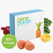 GenoPalate Home DNA Test: Health + Nutrition: Discover Your Nutrient Profile, Food Sensitivities, and The 85+ Best Foods for You