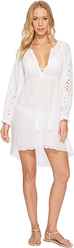 Poet Blouse Tunic Cover-Up