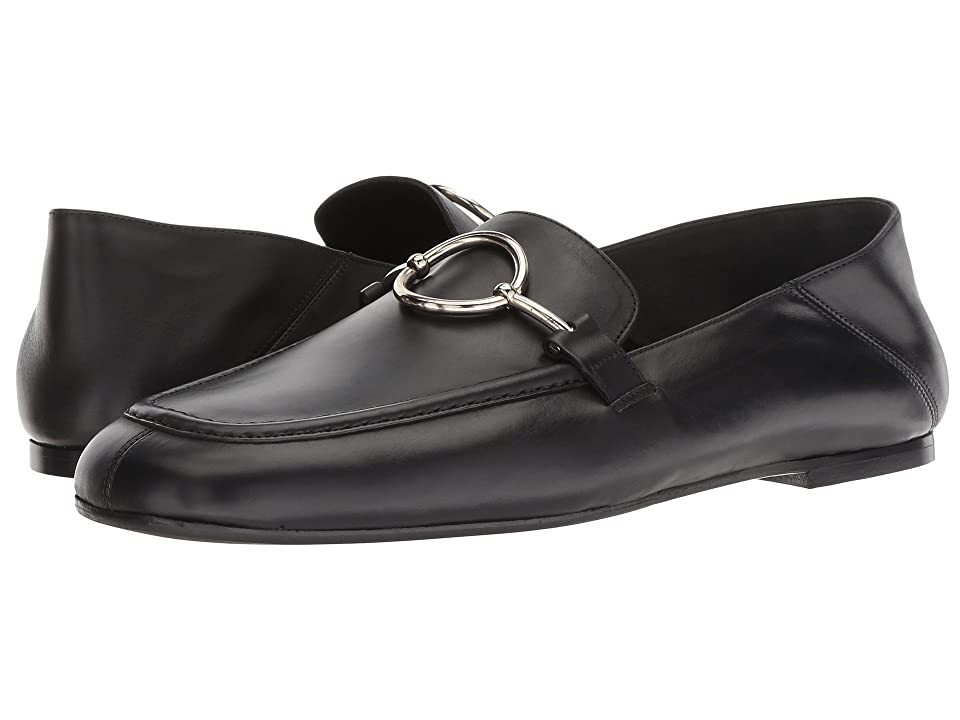 Via Spiga Abby (Black Leather) Women