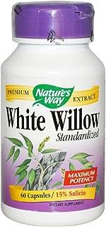 Nature's Way - corteza de sauce blanco extracto estandarizado - 60 cápsulas