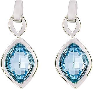 Daniel Swarovski Edition Women Crystal DSE Lemon Stone Earrings F/W 19