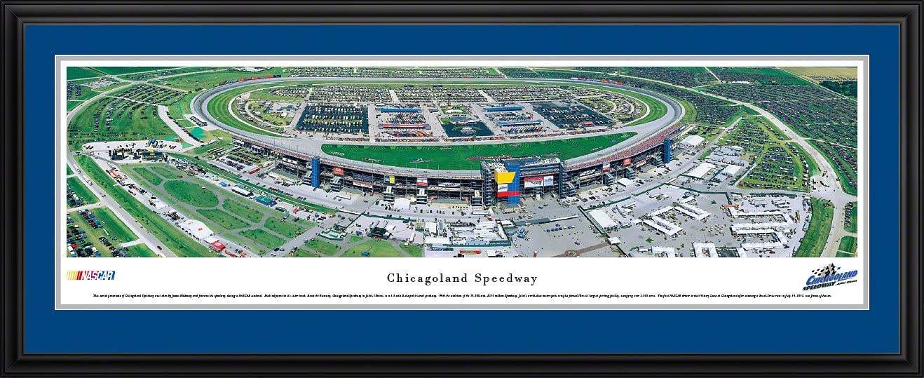 Chicagoland Speedway - Super-cheap Classic Blakeway Panoramas NASCAR Posters