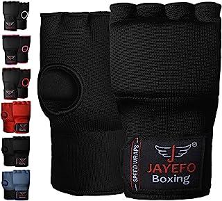 Jayefo Padded Speed Wraps Inner Gloves Training Gel Elastic Hand Wraps for Boxing Gloves Men Women Quick Wraps MMA Kickbox...