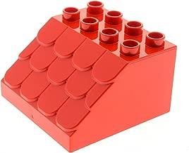 1 X FENSTER LEGO DUPLO PUPPENHAUS 2 X HAUS WAND WÄNDE 1 X DACH 1 X TÜR