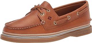 Sperry womens A/O 2 Eye Boat Shoe, Tan, 10 US