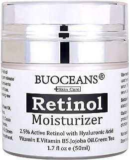 Retinol cream, Retinol Moisturizer Cream for face - With Retinol, Hyaluronic Acid, vitamin E and Green Tea, for Anti Aging...