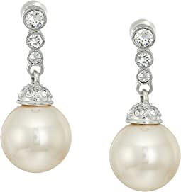 Nina - Blain Pearl Drop Earrings