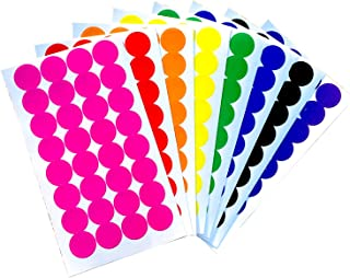 Tag-A-Room Color Coded Dot Stickers, 256 Count