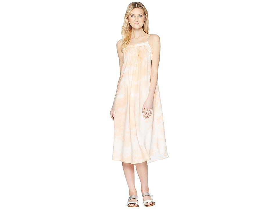 Rip Curl Drift Away Midi Dress (Peach) Women