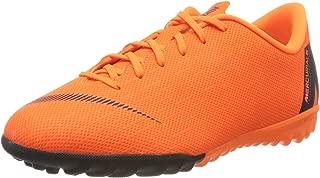 JR Mercurial Vaporx 12 Academy GS TF Fast by Nature - AH7342810 - Color: Orange - Size: 6 Big Kid