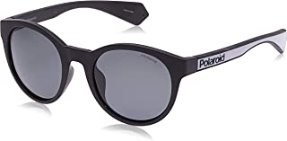 Polaroid Unisex Sunglasses, Oval, PLD 6063/G/S - Grey/Grey