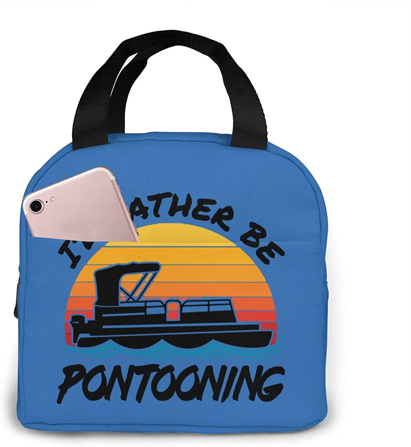 I'D Ranking Recommendation TOP7 Rather Be Pontooning Portable Insulated Lunch For Bag Women