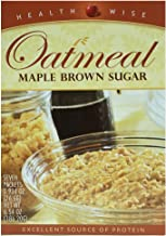 HealthWise Oatmeal Maple Brown Sugar, (7 packets of 0.934 oz., net 6.54 oz.)