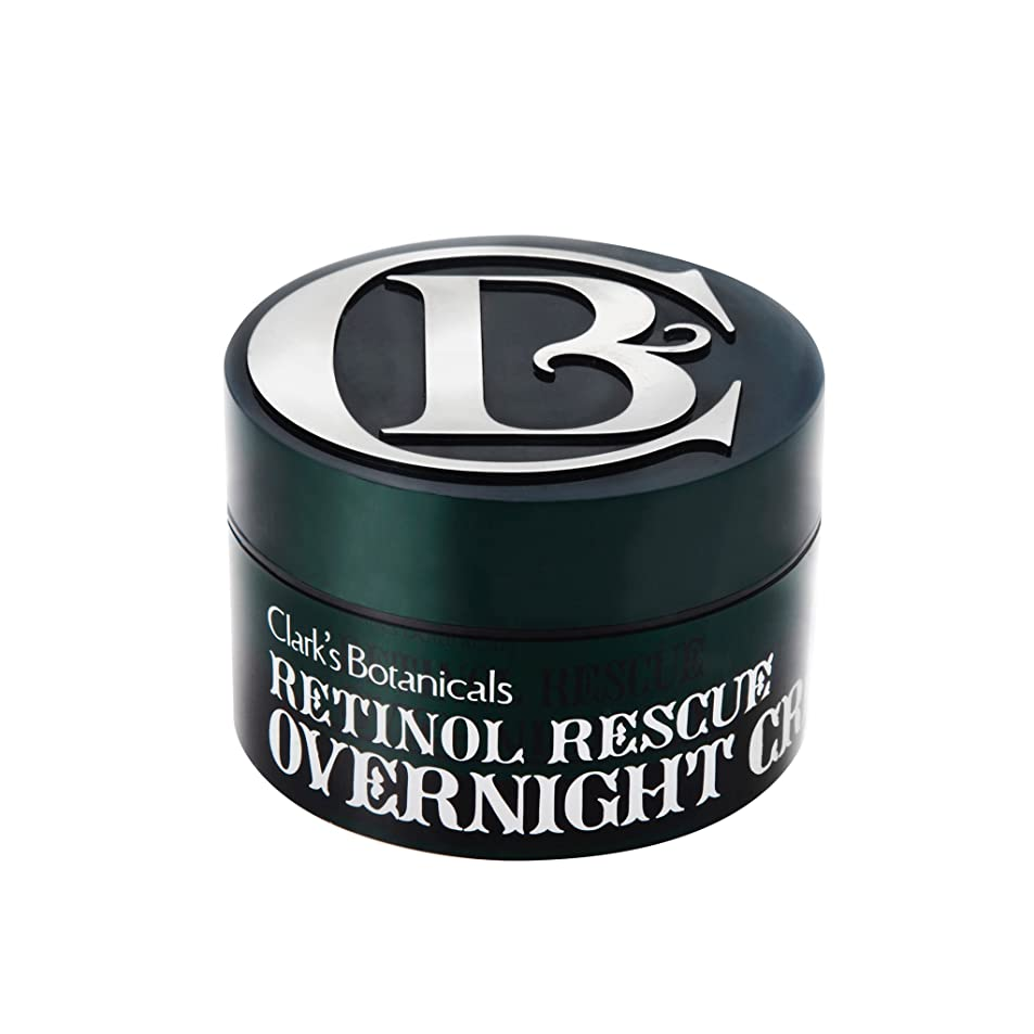 歩き回る思いやりのある精神Clark's Botanicals Retinol Rescue Overnight Cream (1.7 Oz./ 50ml)