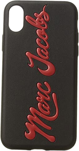 Marc Jacobs - Glossy Marc Embossed iPhone X Case