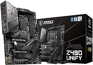 MSI Unify Intel Z490 LGA 1200 ATX DDR4-SDRAM Motherboard