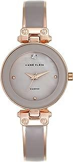 Anne Klein AK/N1980TPRG Analog Quartz Grey Watch