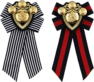 Homyl Pin Spilla Collana Artificiale Vestiti Bow Tie Corsage Distintivo Decorazione Accessori