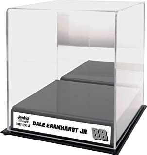 Sports Memorabilia Dale Earnhardt Jr #88 Hendrick Motorsports Sublimated Logo Acrylic Mini Helmet Case - Nascar Display Cases Logo