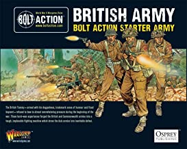 Bolt Action British Army Starter Army Pack 1:56 WWII Military Wargaming Plastic Model Kit