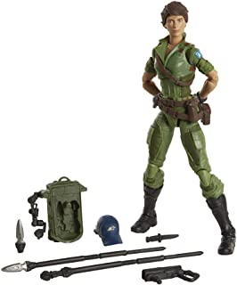 G.I. JOE Classified Series Lady Jaye Action Figure 25 Collectible Premium Toy with Multiple Accessories 6-Inch Scale with ...
