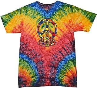 Buy Cool Shirts Funky Peace Tie Dye Woodstock T-Shirt