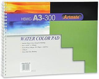 Artmate Water Color Pads A3 Size, 12 Sheets - Jiskhswc-a3