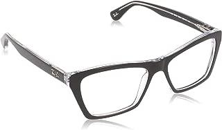 Ray Ban Designer Eyewear, Black, 53-16-140