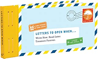 Letters to Open When...: Write Now. Read Later. Treasure Forever. (Long Distance Relationship Gifts, Gifts for Friends, Letter Books) (Letters to My)