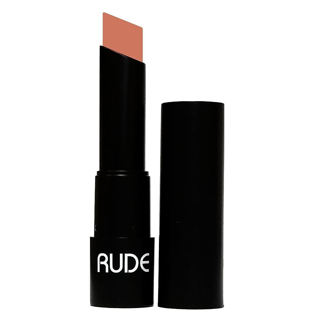 火炎り手配する(6 Pack) RUDE Attitude Matte Lipstick - Unruly (並行輸入品)
