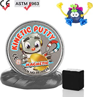 DmHirmg Magnetic Putty Upgrade Accessories Super Soft for Children (Sliver)
