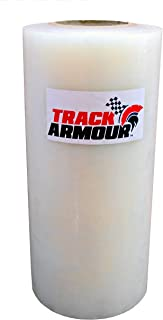TRACK ARMOUR TA12X300-12'' x 300' - Temporary Track Day Paint Protection Clear Adhesive Film for Car