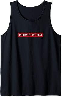 Cool Dubstep T-Shirt, Dubstep Riddim Dubby Jungle Rave Music Tank Top