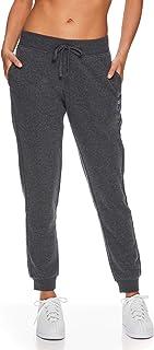K-Swiss Women's High Waisted Joggers - High Rise Waist Activewear Sweatpants