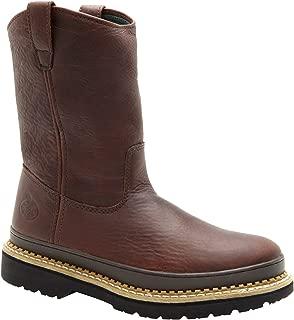 Georgia Men's Giant Wellington Pull-On Steel Toe Work Boots-G4374