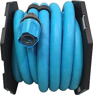 Sun Joe AJEXH50-SJB PRO 50-Ft Expandable Lightweight Kink-Free Hose w/Quick Connectors, Blue
