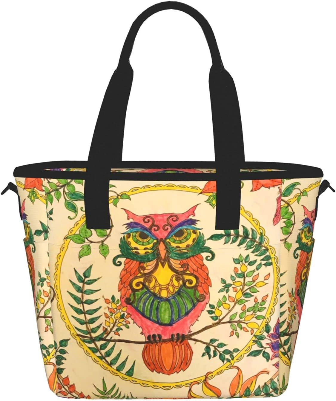 Owl Super Special SALE held Beliefsprinting excellence Women'S Lunch Fashion Bag Portable Meal