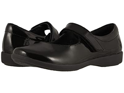 Hush Puppies Kids Lexi (Little Kid/Big Kid) (Black Patent) Girl