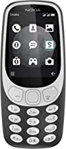 Nokia 3310 TA-1036 Unlocked GSM 3G Android Phone - Charcoal (Renewed)