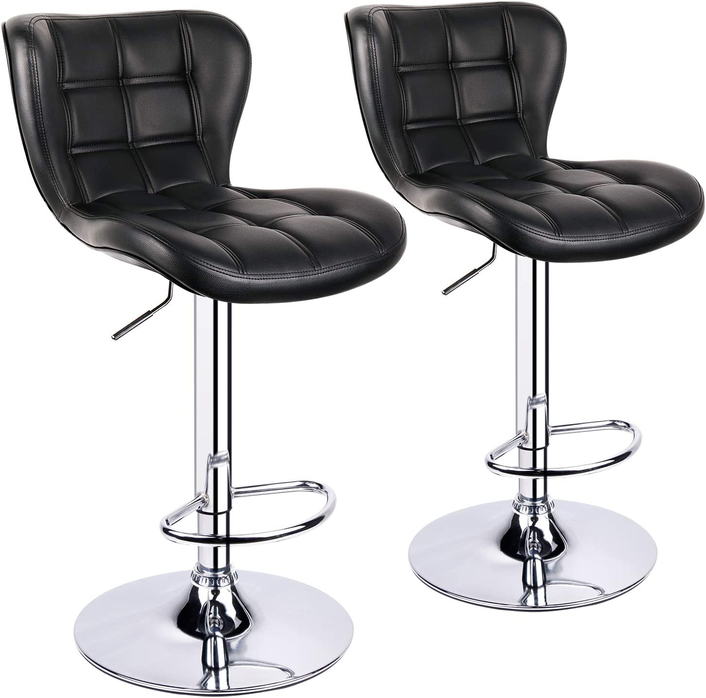 Leopard Shell Back Adjustable Bar Stool with Stools - Super Louisville-Jefferson County Mall Special SALE held Swivel