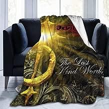 JENNIFERJOHNSONddt DevilDriver The Last Kind Words Beautiful Micro Fleece Blanket,Warm,Lightweight,Versatile for All Seasons,Perfect for Bed Sofa Couch 50