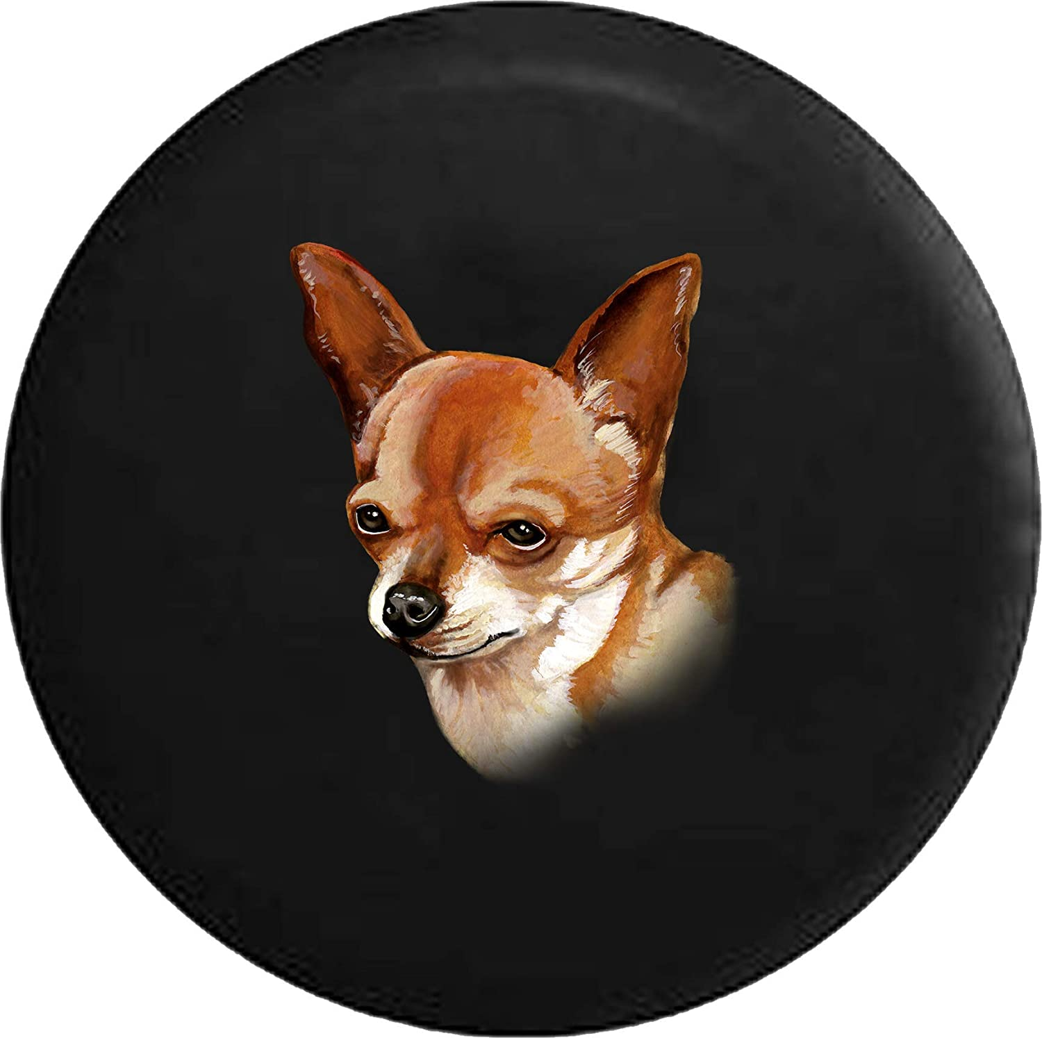 Safety and trust Caps Supply Spare Tire Cover Chihuahua Attention brand Lover F Adopt Rescue Dog