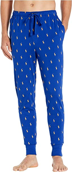 Heritage Royal/Gold Bugle All Over Pony Print