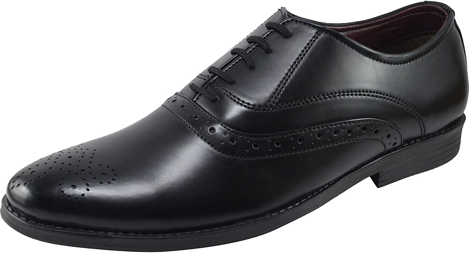 VONZO Oxford Dress Dress schuhe for Men - Formal Synthetic Leather schuhe - Casual Classic Mens schuhe  keine Steuer
