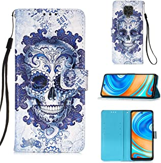 StarCity Case for Xiaomi Redmi Note 9S / Note 9 Pro, [Kickstand Feature] 3D PU Leather Flip Folio Wallet Case with [Card S...